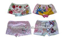 Wholesale Lovely Children Underwear girls boxer brief $4.99~$7.99