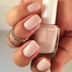 Can't believe I didn't have this classic by @essiepolish 'ballet slippers' this is three coats just because I wanted opacity  #essie #essielook #ess