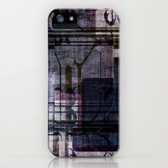 Grunge Pattern iPhone Case by Fine2art - $35.00