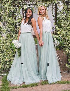 Mint bridesmaid dresses, long bridesmaid dresses, cheap wedding party dresses, beach party dresses, boho bridesmaid dresses