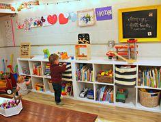 A Whimsical Basement Playroom - Project Nursery - Larica Dines - Beyond Binary