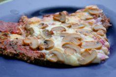 Hamburger-Crust Pizza