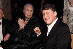 """""""Joni Mitchell out last night with Cameron Crowe at Clive Davis' Pre-Grammy Party, February 11, 2017. """""""