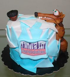 Scrat Ice Age Cake