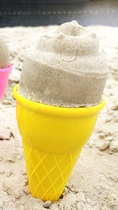 #HEMA #cup #sand #creative Ice Cream, Unique, Creative, Summer, Ideas, Ice Creamery, Summer Time, Icecream Craft, Summer Recipes
