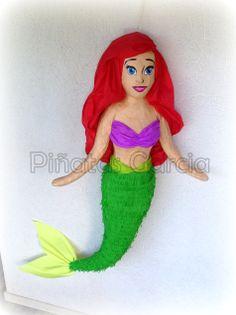 Ariel the little mermaid disney pinata
