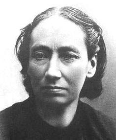Louise Michel, Institutrice, militante révolutionnaire et libertaire française.