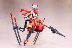 Anime Figures, Action Figures, Game Character, Character Design, Robot Illustration, Frame Arms Girl, Broken Doll, Cool Robots, Robot Girl