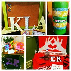 Katy's Sigma Kappa Big Little Week!