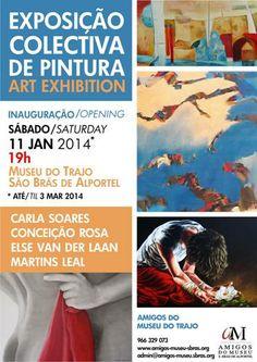 exposição collectiva de pintura