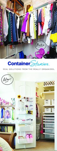 A DOUBLE KIDS CLOSET TRANSFORMATION  WITH ELFA   See How We Add the Colorful Personality and End the Chaos