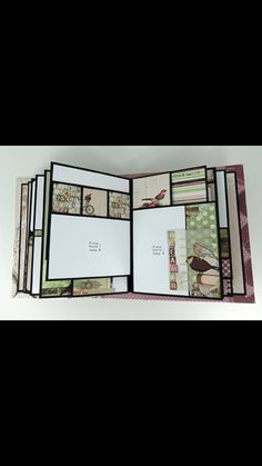 Mr. Benjamin Album created by crafter Patti Katai. Click on the link below to purchase the tutorial. http://shop.paperphenomenon.com/Mr-Benjamin-Photo-Album-Tutorial-Video-Combo-tutvid0134.htm