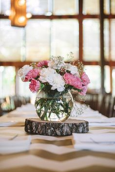 Rose Bowl - A spherical #vase, shaped like a fish bowl. {Photo Love Photography}