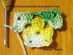 baixo Crochet Crafts, Crochet Doilies, Crochet Projects, Knit Crochet, Clutch En Crochet, Crochet Necklace, Confection Au Crochet, Crochet Squares, Ribbon Embroidery