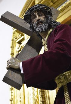 Hoy nos acercamos al Cerro, a la @DoloresdelCerro a testar la devoción del Nazareno de la Humildad @elllamadorcsr