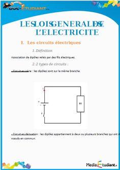 Télécharger Livre : Les lois générales de l'électricité ~ Cours D'Electromécanique                                                                                                                                                      Plus