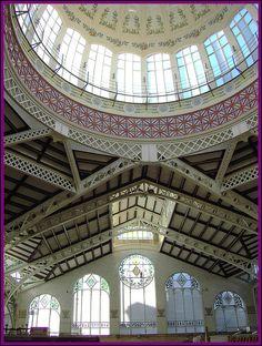 Interior del mercado de Valencia