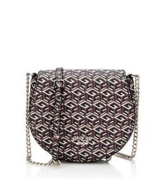 The braided chain on the shoulder bag injects just the right dose of energy into this model with pale coloured metal details, and an all-over logo print that lights up the style Cube, Crossbody Bag, Michael Kors, Shoulder Bag, Handbags, Chain, Logos, Metal, Casual