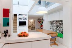 Intercambio de casa en el norte de #Londres. Casa de diseño exquisito y con un toque moderno divertido.