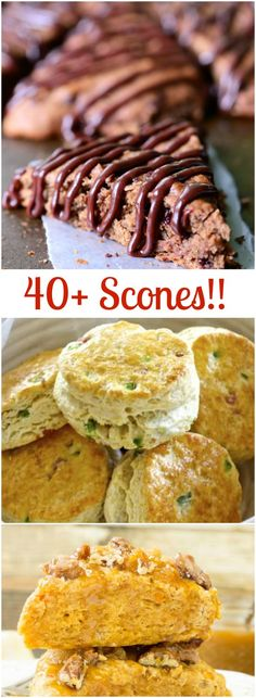 40+ Mouth-watering Scones - buttery and flaky scones gives you a reason to get out of bed!