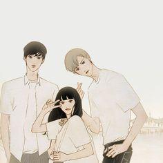 Boy Illustration, Illustrations, Romance Art, Cute Posts, Art Station, Korean Art, True Art, Drawing Poses, Boy Art