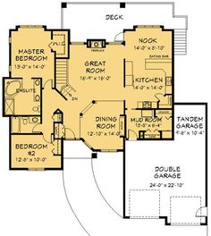 House Plan Information for E1207-10 1772 sq ft