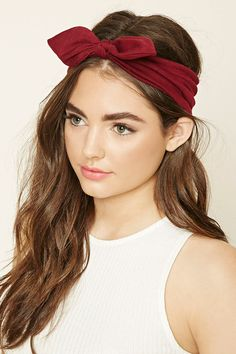 Bow Knit Headwrap | Forever 21 - 1000231600