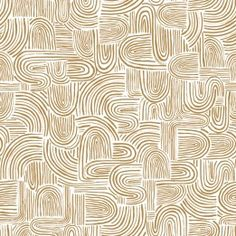 Create a retro, west coast vibe with this hand drawn print reminiscent of surf and sand. Textured Wallpaper, Fabric Wallpaper, Mirror Closet Doors, Small Space Design, Wallpaper Calculator, Design Repeats, Information Design, Helpful Hints
