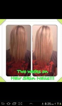 Wow after using the new ItWorks #hair #skin and #nails supplement for only 2 weeks, I'm impressed! Available at https://wrapsaintaugustine.myitworks.com I can't wait to get some!