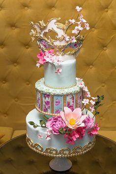 mascarade cake - Cake by castadiva