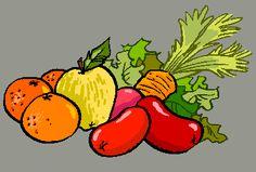 frutas y verduras. Gifs, Bowser, Fun, Fictional Characters, Blog, Ideas, Dibujo, Early Education, Food