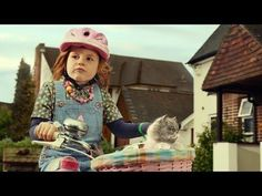 #Cute Ad With A #Cat And Little #Girl Lip Syncing Starship's We Built This City Song - #Starship