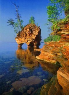 Pine Island Lake Eagle River Wi