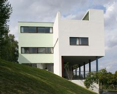 House at Weissenhof. Stuttgart, Germany. Le Corbusier. 1927