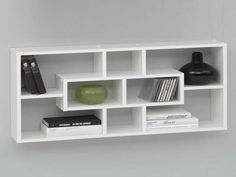 IKEA Wall Shelves Ideas - A Starting Point For Your DIY Project with white design