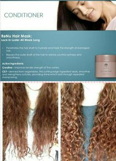 Renu hair mask Do you want to smoother non frizzy hair then try the #Renu hair mask