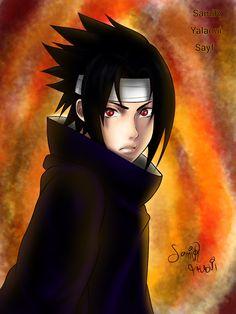 sasuke uchiha by samir-yalaoui