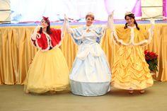 le Principesse (Cenerentola-Biancaneve-Belle)