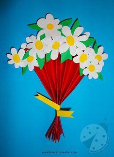 Booke for Kids Diy Crafts To Do, Creative Crafts, Paper Crafts, Craft Activities, Preschool Crafts, Kids Crafts, Spring Art, Spring Crafts, Easy Valentine Crafts