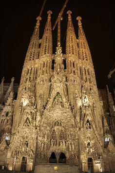La Sagrada Familia - Barcelona ... one of the most incredible places I've ever visited.