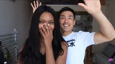 Korean boyfriend does my makeup #AWBW #BWAM YouTube | La La