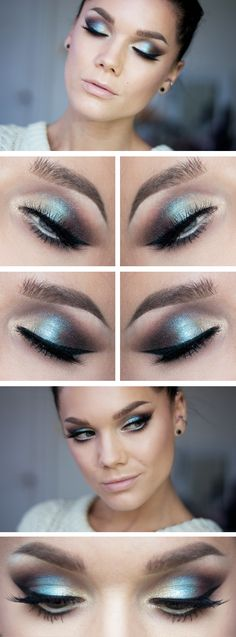 This look could be used as a day or evening make up, for evening wise could make the colour darker