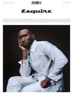 Mahershala Ali for Esquire UK - March/April 2019 Mahershala Ali, Black Actors, Black Celebrities, Esquire Uk, Gq, Male Fashion Trends, Mens Fashion, Fashion 2020, Men Fashion Photoshoot