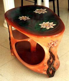 Мебель из папье-маше своими руками