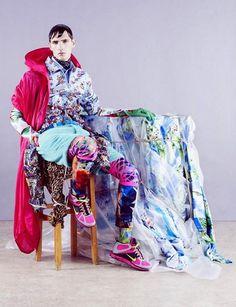 fashion, purple, patterns