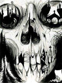 Skull & Gothic Art