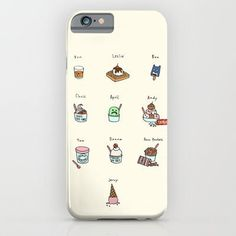 Society6 - Parks And Rec Ice Cream iPhone 6 Case by Tyler Feder phone case