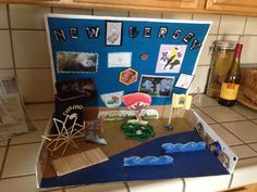 Hartman's New Jersey state float project