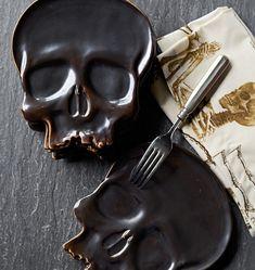 Halloween: Cool Halloween Skull Plates