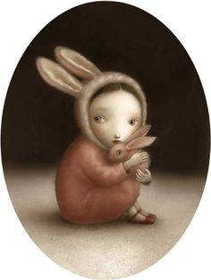 """""""lucy"""", signed giclée on 100% archival cotton rag, by nicoletta ceccoli."""